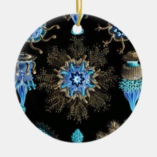 Sea Green Siphonophorae Christmas Ornament
