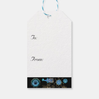 Sea Green Siphonophorae Gift Tags