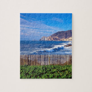 Sea Half Moon Bay California Puzzle