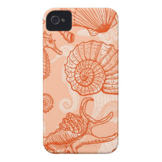 Sea hand drawn pattern Case-Mate iPhone 4 case