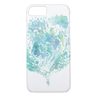 Sea Heart Abstract Watercolor iPhone 8/7 Case