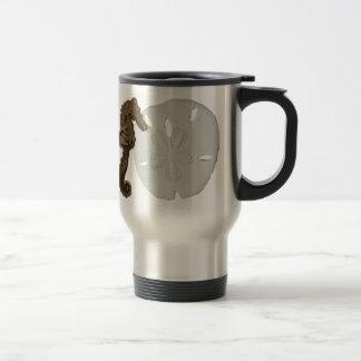 Sea Horse and Sand Dollar Mug