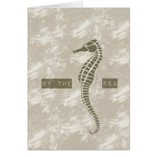 Sea Horse By the Sea Greeting Card
