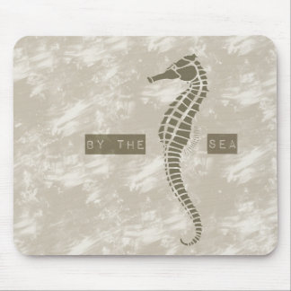 Sea Horse By the Sea Mouse Pad