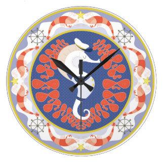 sea horse clock