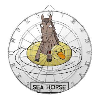 Sea Horse Dartboard