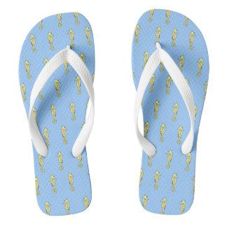 sea horse flip flops