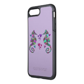 Sea Horse Love OtterBox Symmetry iPhone 7 Plus Case