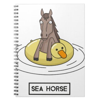 Sea Horse Notebook