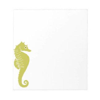 Sea Horse Notepad