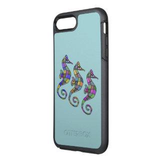 Sea Horse Rainbow OtterBox Symmetry iPhone 8 Plus/7 Plus Case