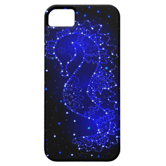 sea horse swims in lights case for the iPhone 5