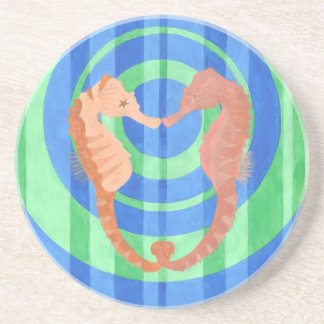 Sea Horses Drink Coaster