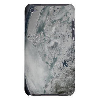 Sea ice above North America iPod Touch Case