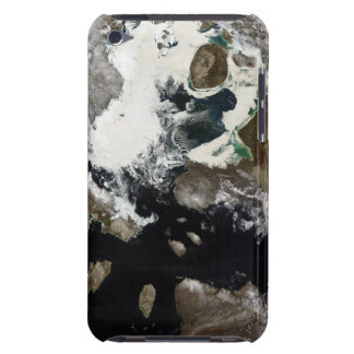 Sea ice and sediment visible in Nunavut, Canada iPod Touch Case