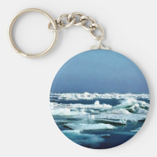 Sea Ice Off Arctic Refuge Coastal Plain Keychains