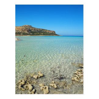 Sea impression at Cape Tigani at Balos Bay - Postcard