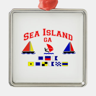 Sea Island-GA. Christmas Ornament