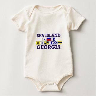 Sea Island - One Piece Infant Bodysuit
