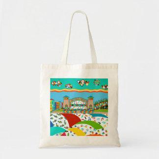 Sea Isle City Band Shell Budget Tote Bag