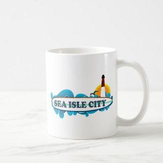 Sea Isle City. Basic White Mug