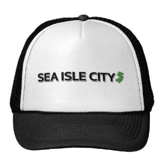 Sea Isle City New Jersey Mesh Hat