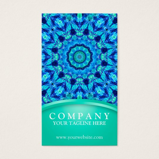 Sea Jewel Mandala Business Card