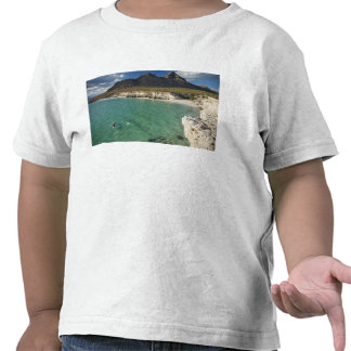 Sea kayaker on the Gulf of California at Isla Tee Shirts