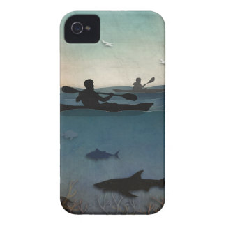 Sea Kayaking iPhone 4 Case-Mate Cases