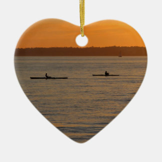 Sea Kayaks Christmas Ornament
