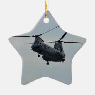 Sea knight CH-46 Ceramic Star Decoration