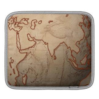 Sea Level Map iPad Sleeve