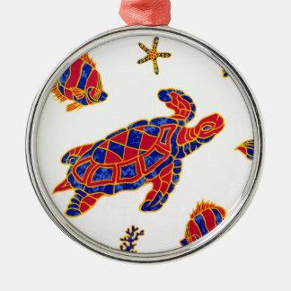 Sea life christmas ornament