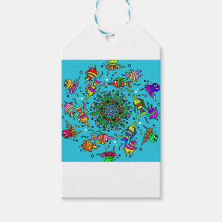 sea life design colorful mandala