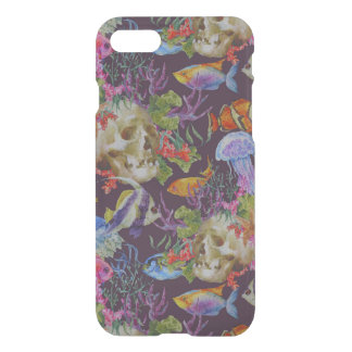 Sea Life Grunge Pattern iPhone 8/7 Case
