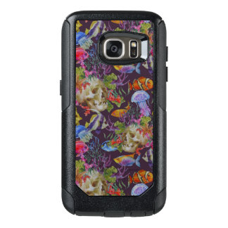 Sea Life Grunge Pattern OtterBox Samsung Galaxy S7 Case
