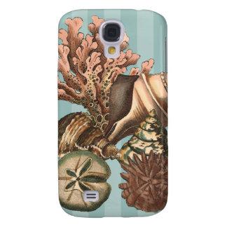 Sea Life Silhouette Galaxy S4 Case