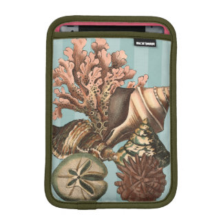 Sea Life Silhouette iPad Mini Sleeve
