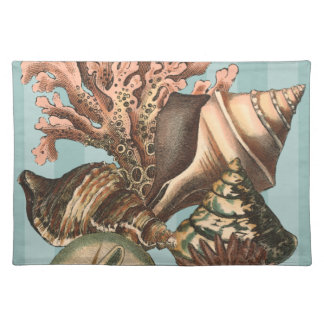 Sea Life Silhouette Placemat