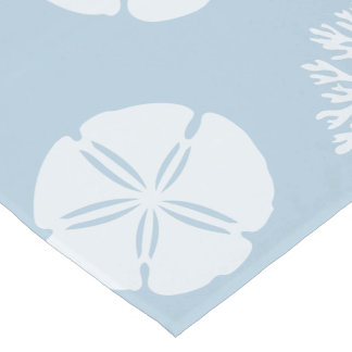 Sea Life Silhouettes (Blue Ocean) Short Table Runner