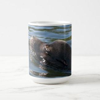 Sea Lion Basic White Mug