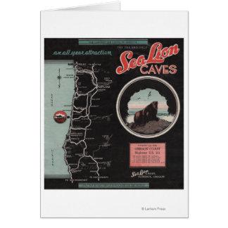 Sea Lion Caves, Florence, Oregon Card