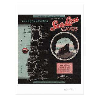 Sea Lion Caves, Florence, Oregon Postcard
