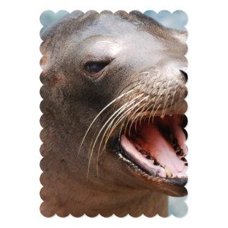 Sea Lion 5x7 Paper Invitation Card
