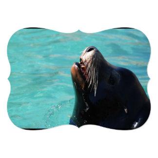 Sea Lion Personalized Invitations