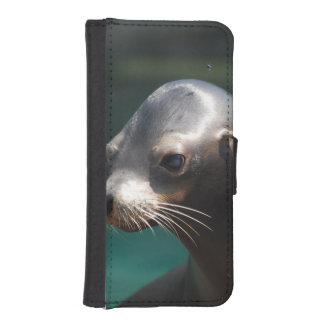 Sea Lion iPhone SE/5/5s Wallet Case