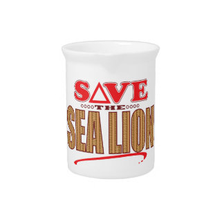 Sea Lion Save Pitcher