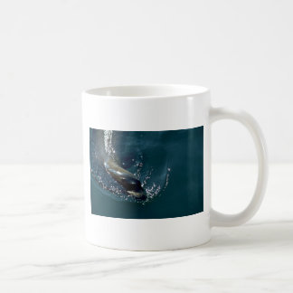 Sea Lion Swimming Coffee Mug