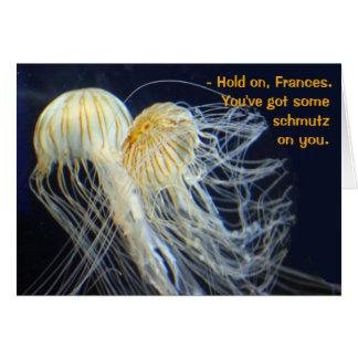 Sea Lion Wisdom Jellyfish Schmutz Card
