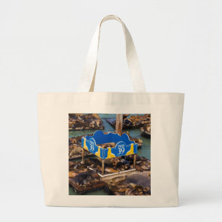 Sea Lions in San Francisco Large Tote Bag